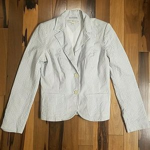 🌟Tommy Hilfiger Blue / White Striped Blazer